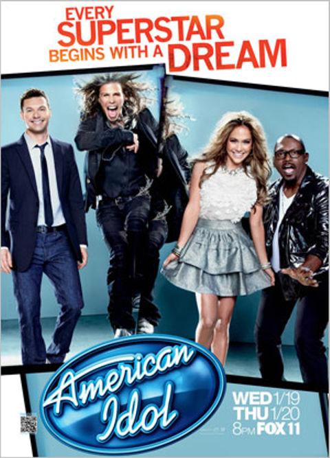 Poster promo resmi American Idol season 10.