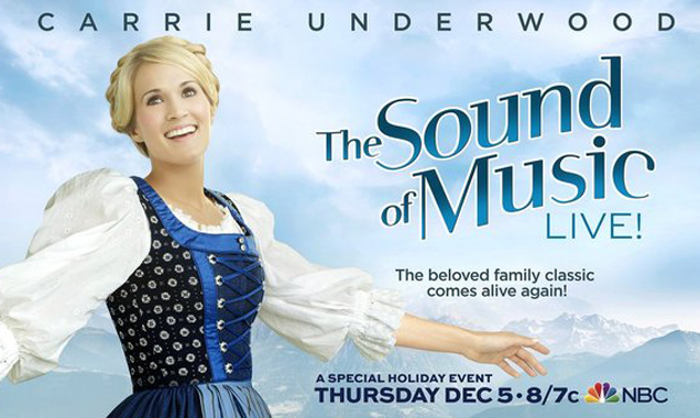 Carrie Underwood Takes on The Sound of Music Live Tonight